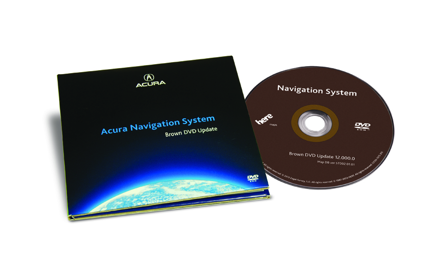 The Official Acura Map Update Site ILX Brown DVD Map - Acura navigation