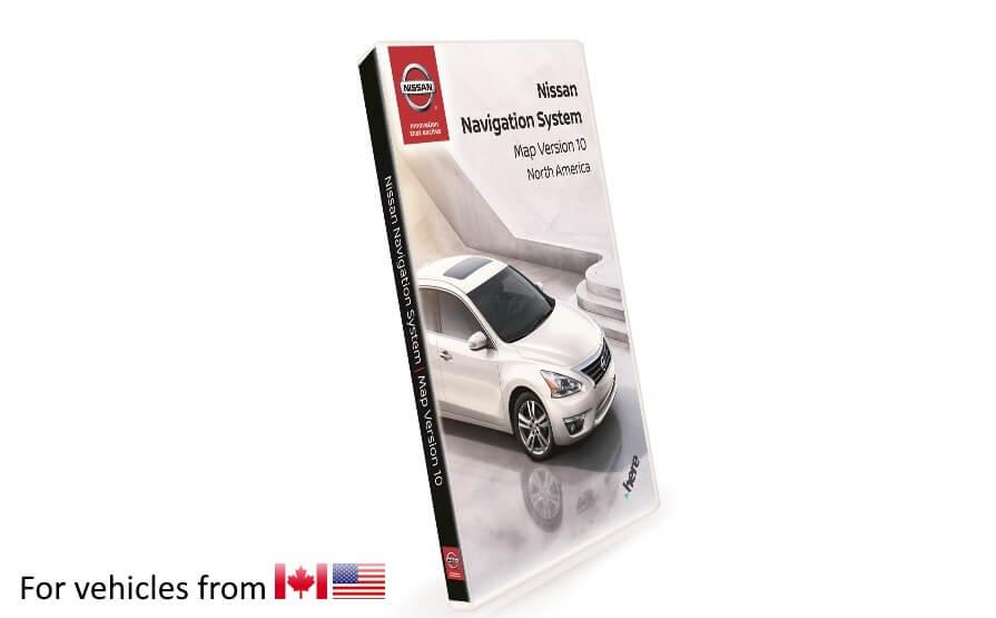 Nissan Navigation Map Updates Sentra 2015 Nissan Navigation - Toyota-map-updates-us